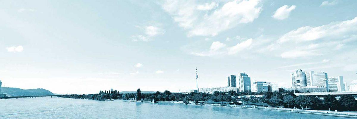 Skyline von Wien - FMO Rechtsanwaltskanzlei